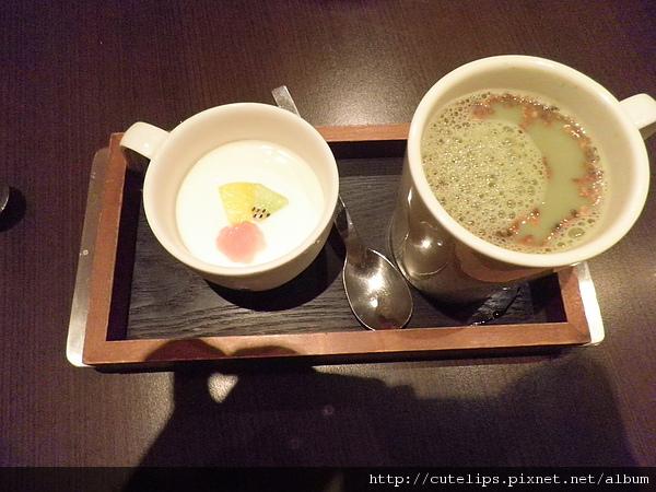 果漾鮮奶酪&玄米黑豆抹茶