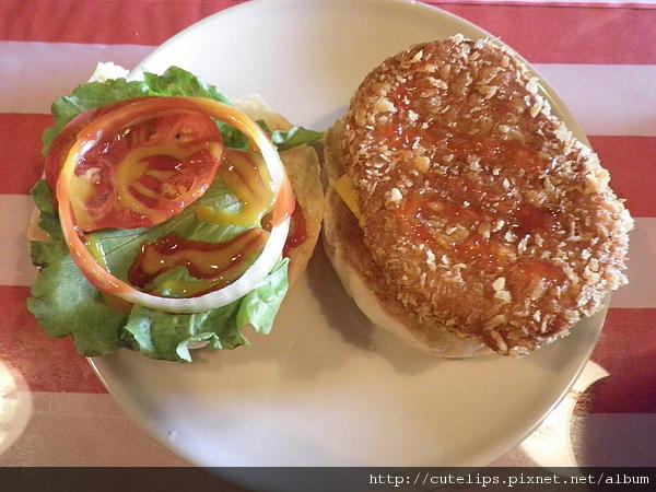 夏威夷雙層鮮蝦漢堡