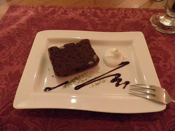 甜點~巧克力布朗尼