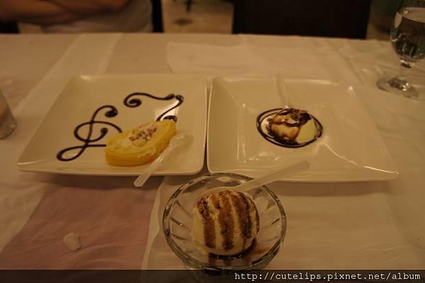 水果蛋糕、奶酪&冰淇淋