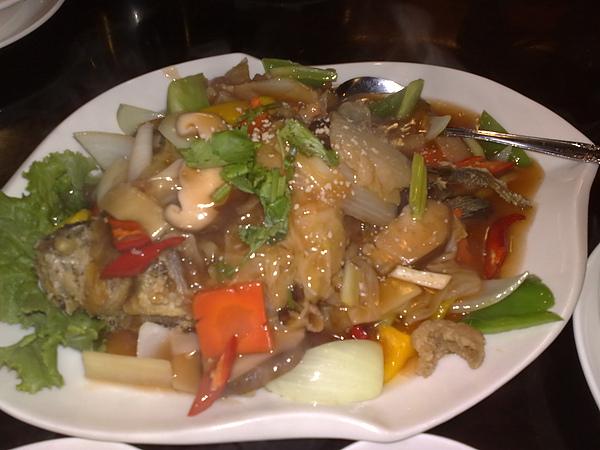 台式紅燒黃魚