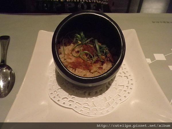青蔬燒鰻蒸飯
