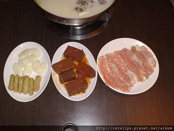 年糕、黑輪、鴨血&松阪豬肉