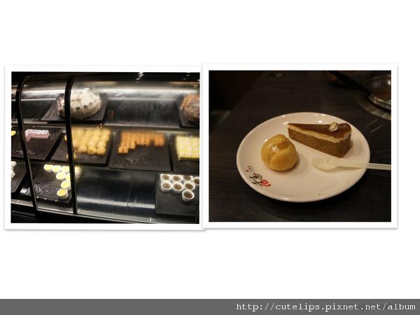 蛋糕甜點區