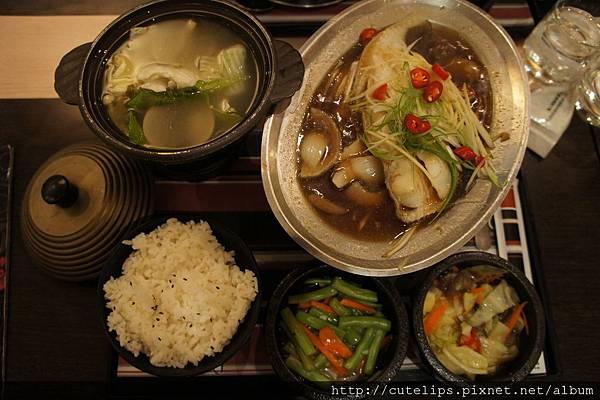 醬油蒸鱈魚