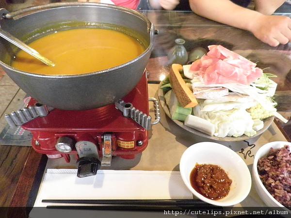 南瓜野菜鍋