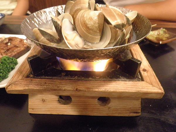 清酒蒸蛤蜊