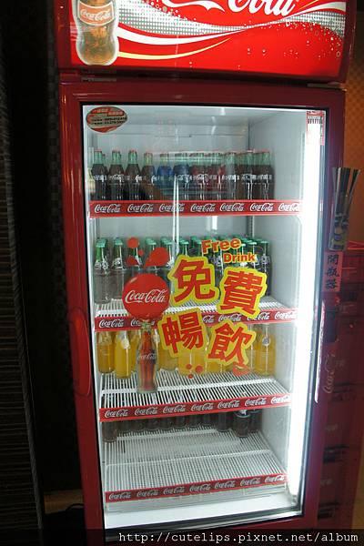 瓶裝汽水櫃