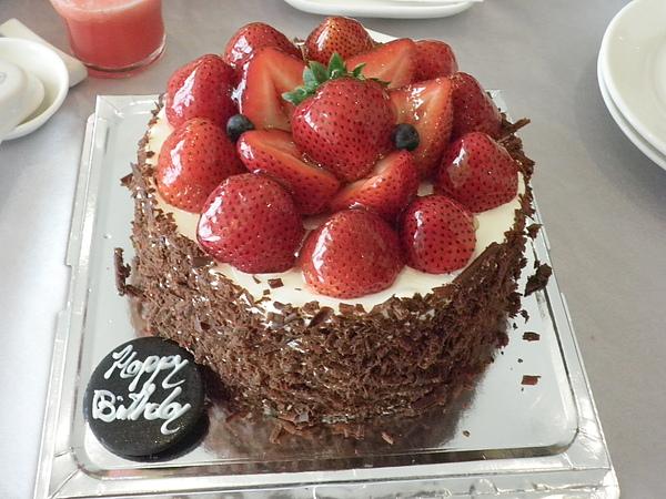 訂製草莓黑森林蛋糕~小希的