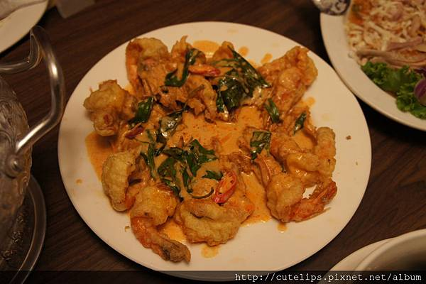 香酥椰汁蝦