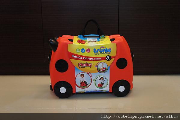 Trunki趣緻兒童行李箱