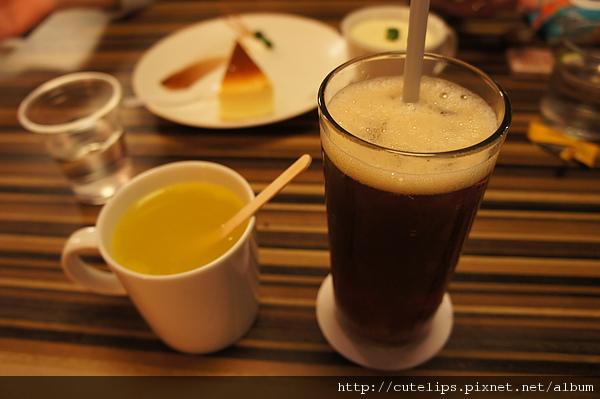 熱桔茶&冰紅茶