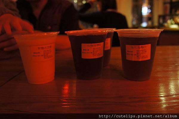 冰豆漿、洛神花茶&烏梅汁