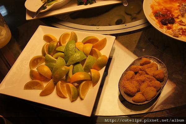 水果及麻糬