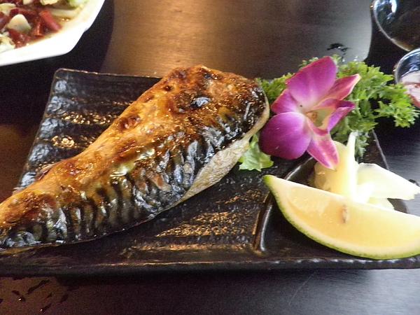 烤日本鯖魚
