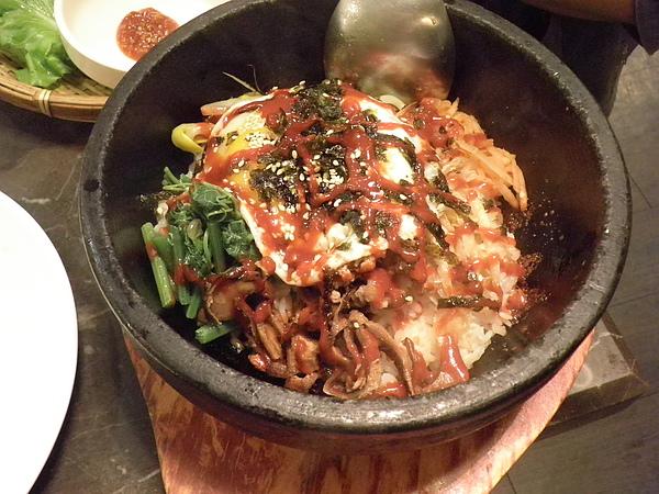蔬菜石鍋拌飯