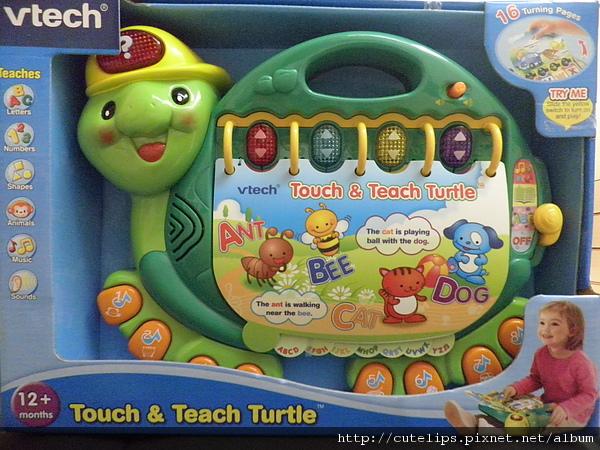 Vtech海龜寶寶字母學習書