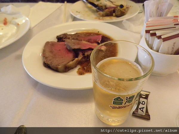烤牛肉+生啤酒