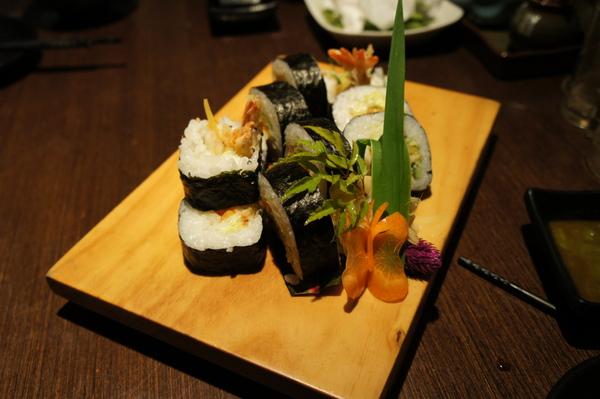 炸蝦天婦羅壽司