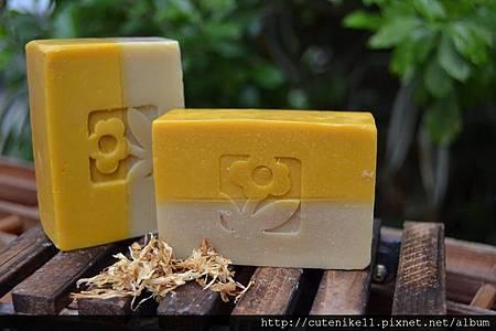 陽光活力甜橙母乳皂/分層