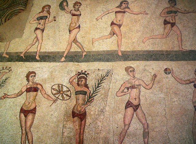 古羅馬運動員