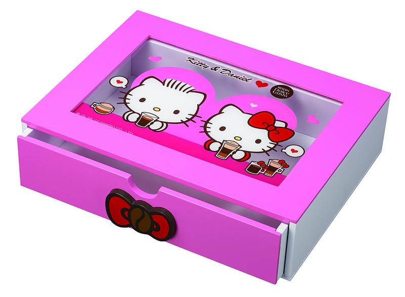 Kitty & Daniel 膠囊收納木盒