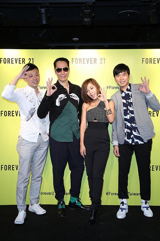 10. 全新組合小男孩樂團出席Forever 21 VIP Party