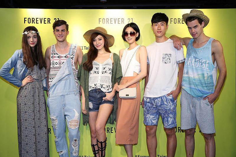 6. 六位模特兒詮釋 Forever 21 2015 夏日系列