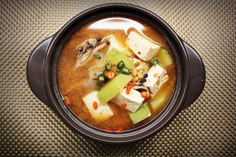 d青麴醬湯