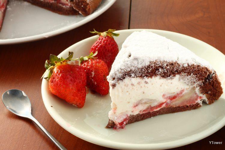 草莓波士頓派