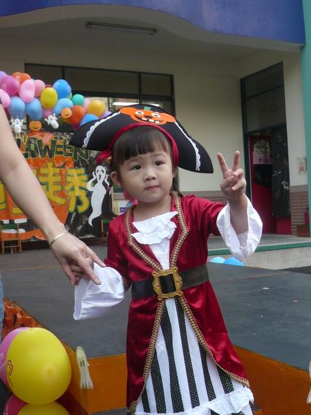 98年萬聖節-造型:海盜公主!!