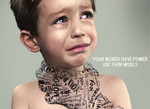 Your words have power so use them wisely.