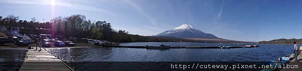 富士五湖 山中湖 南側