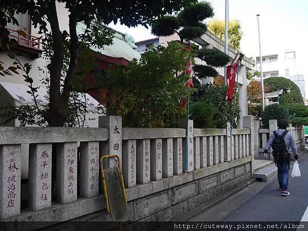 人形町 笠間稻荷神社