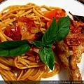 番茄燉雞義大利麵