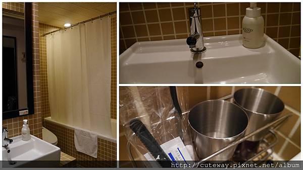 sutton place hotel 房間浴室