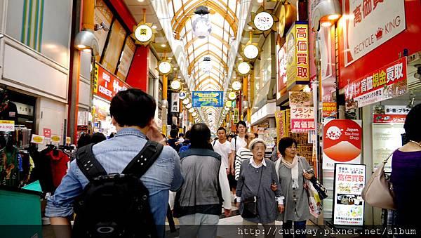 中野商店街(直)