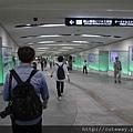 岡山車站 地下通道