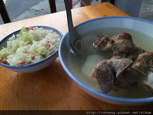 大橋頭高麗菜飯
