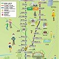 大阪地面電車路線圖