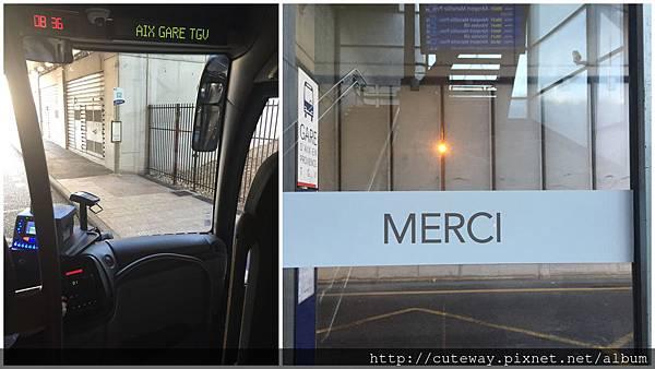 iDTGV艾克斯到巴黎