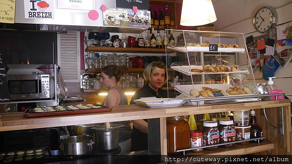 Aix噴泉散策_CREPES CIDER可麗餅