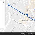 Aix噴泉散策map2
