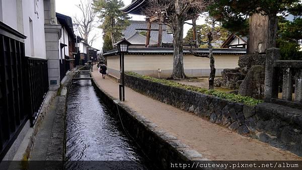 飛驒古川散策-瀬戸川と白壁土蔵街