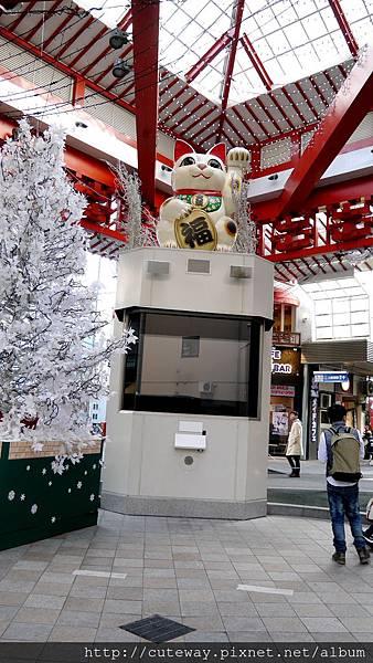 名古屋大須商店街招財貓