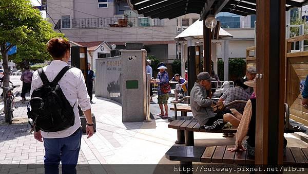 [溫泉場]東萊溫泉露天足湯(돈래온천노천족탕)