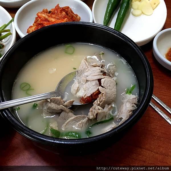 [大淵] 雙胞胎豬肉湯飯(쌍둥이돼지국밥)