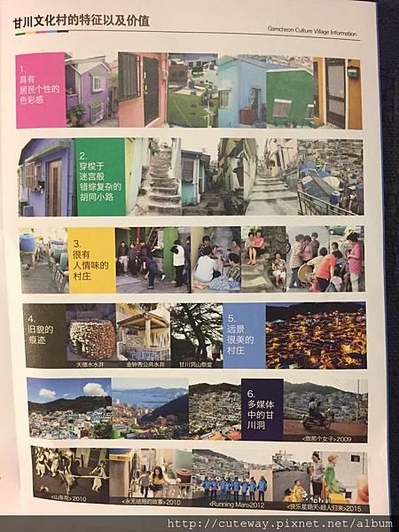 甘川文化村map