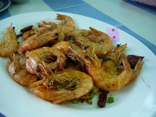 九號碼頭-鹽酥蝦