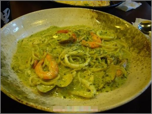 西西里 香草醬海鮮麵